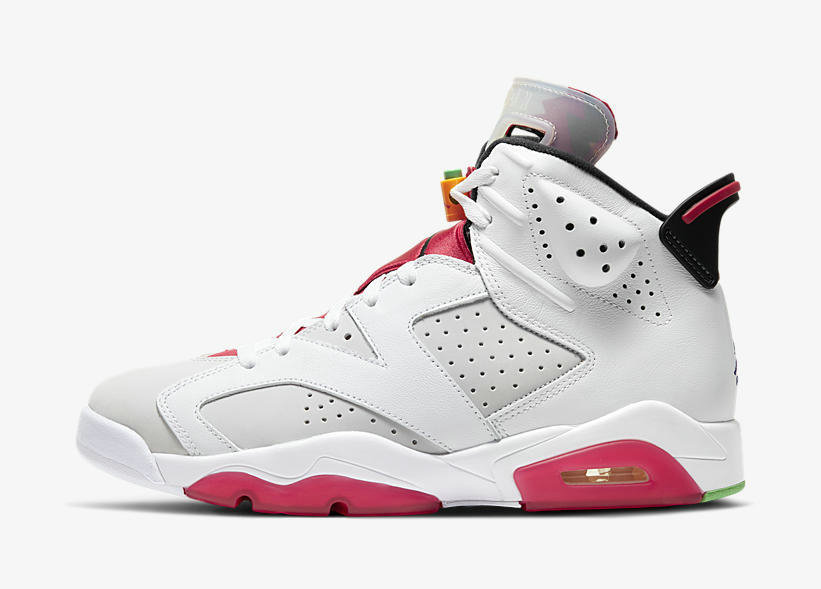 Where To Buy 2020 Wholesale Cheap Nike Air Jordan 6 Hare Neutral Grey White-True Red-Black CT8529-062