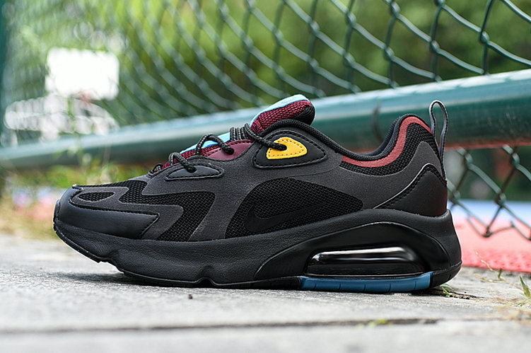 Where To Buy 2020 Wholesale Cheap Nike Air Max 200 Black Anthracite-Bordeaux AQ2568-001