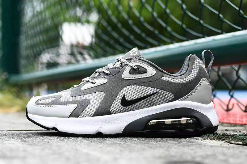 Where To Buy 2020 Wholesale Cheap Nike Air Max 200 Cool Grey Black White