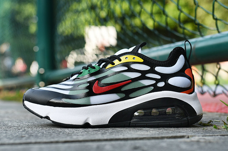 Where To Buy 2020 Wholesale Cheap Nike Air Max 200 Green Black Gym Red