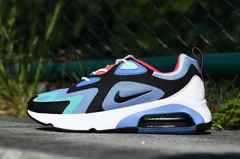 Where To Buy 2020 Wholesale Cheap Nike Air Max 200 Royal Pulse Blue Grey Red White AQ2568-401