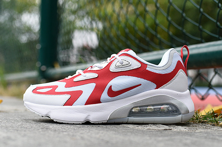 Where To Buy 2020 Wholesale Cheap Nike Air Max 200 University Red White
