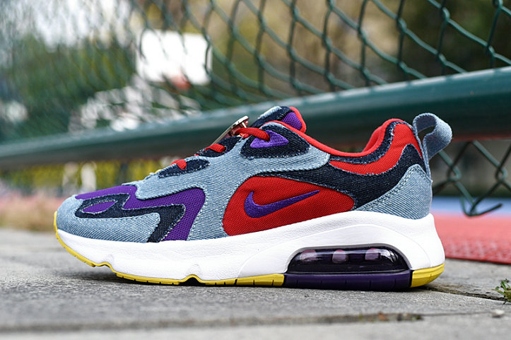Where To Buy 2020 Wholesale Cheap Nike Air Max 200 Voltage Purple University Red CK5668-600