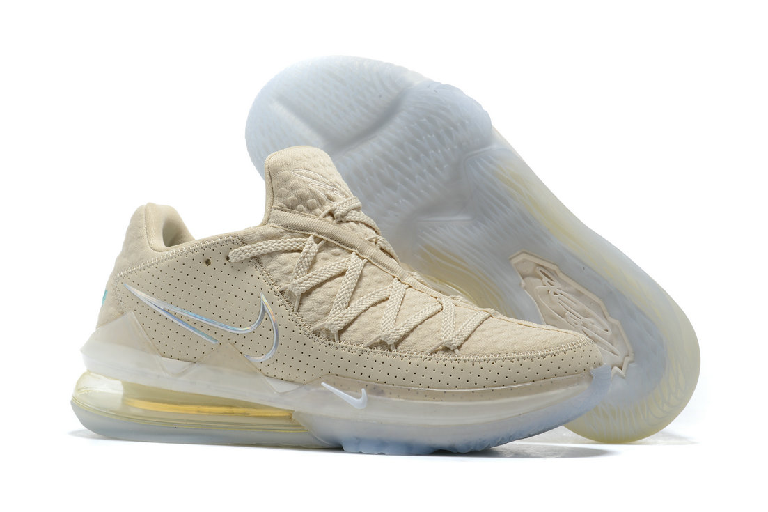 Where To Buy 2020 Wholesale Cheap Nike LeBron 17 Low Light Cream Multi-Color CD5007-200