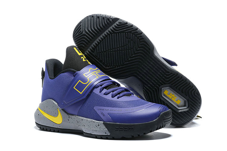 Where To Buy 2020 Wholesale Cheap Nike Lebron Ambassador XII Purple Yellow Grey Black
