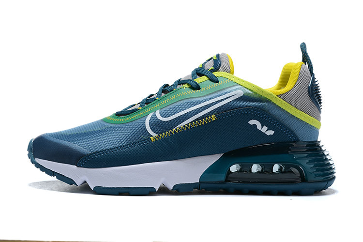 Where To Buy 2020 Mens Wholesale Cheap Nike Air Max 2090 Blue Fluorescent Green White