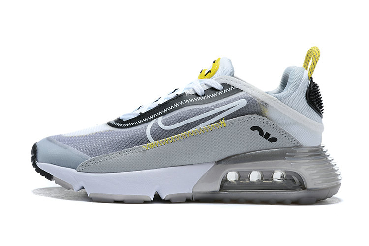 Where To Buy 2020 Mens Wholesale Cheap Nike Air Max 2090 Wolf Grey White-Particle Grey BV9977-002