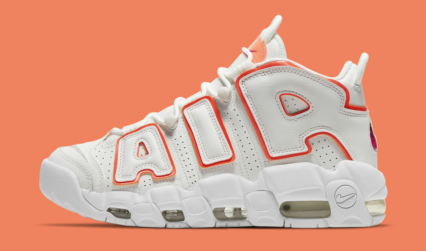 Where To Buy 2021 Wholesale Cheap Nike Air More Uptempo Sunset DH4968-100