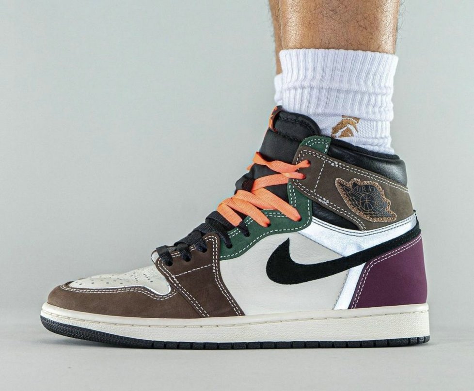 Where To Buy 2022 Wholesale Cheap Air Jordan 1 High OG Hand Crafted Black Archaeo Brown-Dark Chocolate DH3097-001