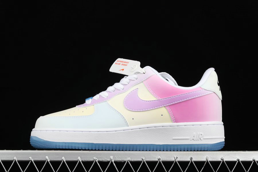 Where To Buy 2022 Wholesale Cheap Nike Air Force 1 07 LX UV Reactive Changes Colors DA8301-100