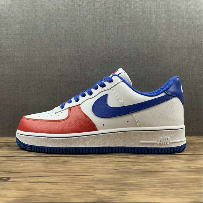 Where To Buy 2022 Wholesale Cheap Nike Air Force 1 Low Nike By Customer White Blue Red CT7875-164