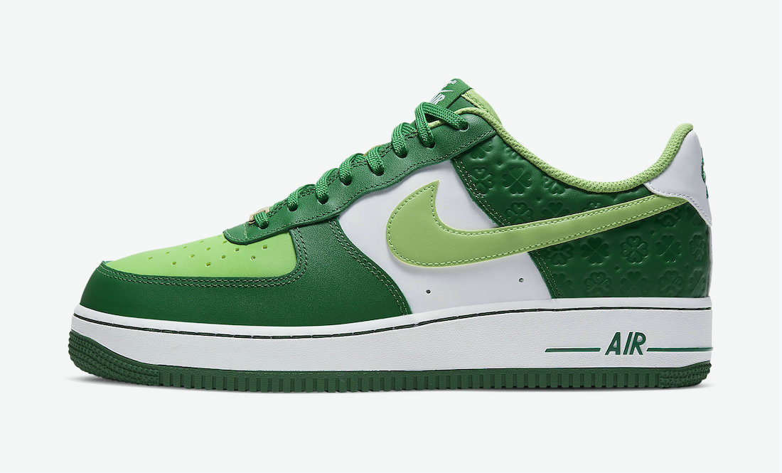 Where To Buy 2022 Wholesale Cheap Nike Air Force 1 St. Patricks Day Pine Green Mean Green-White DD8458-300