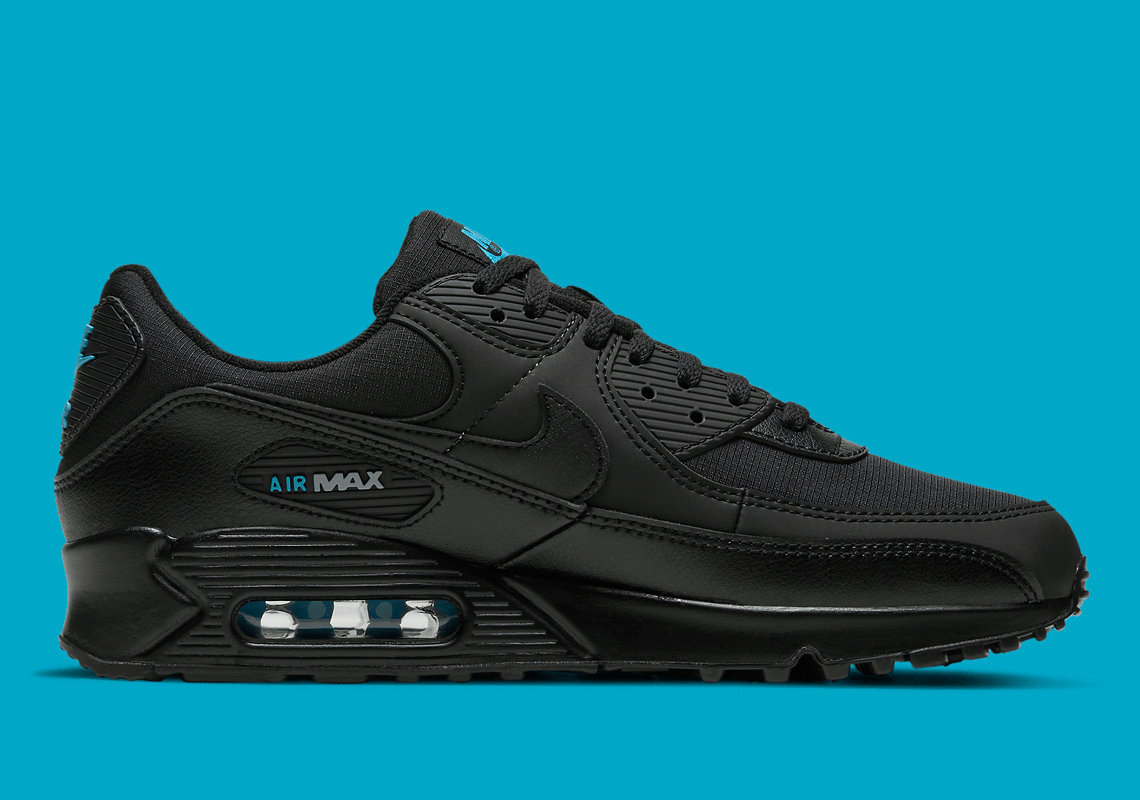 Where To Buy 2022 Wholesale Cheap Nike Air Max 90 Black Laser Blue DC4116-002