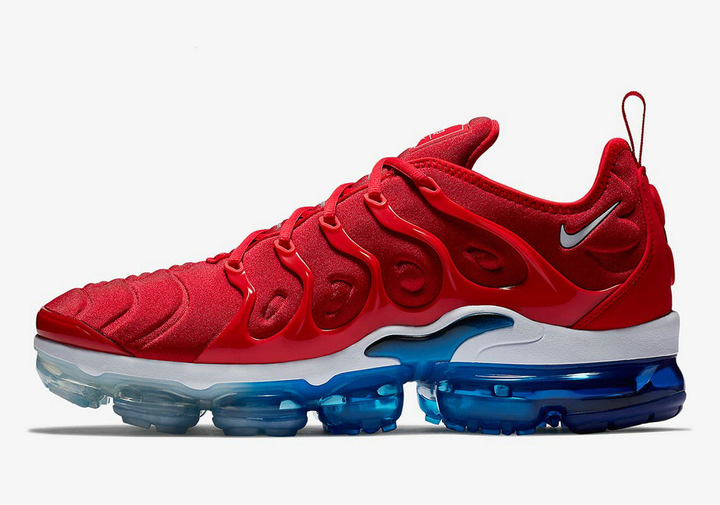 Where To Buy 2022 Wholesale Cheap Nike Air VaporMax Plus Red White Blue