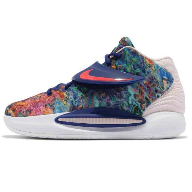 Where To Buy 2022 Wholesale Cheap Nike KD 14 EP Kevin Durant Deep Royal Blue Pale Coral CZ0170