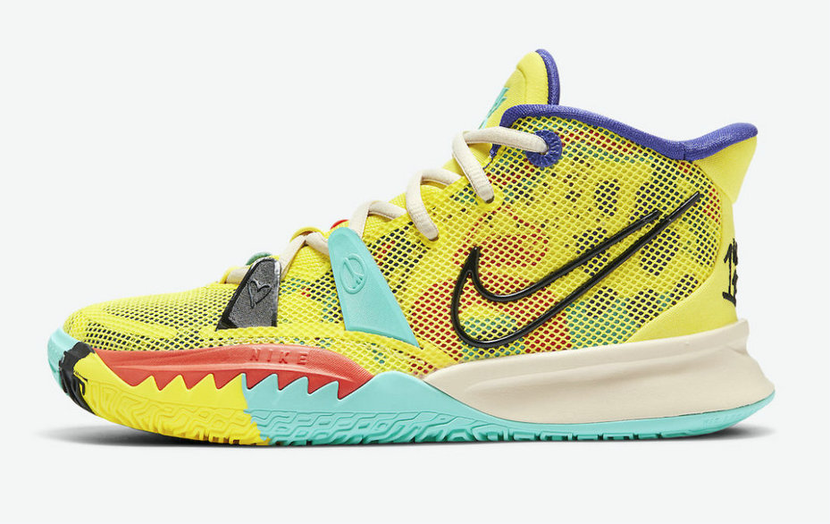Where To Buy 2022 Wholesale Cheap Nike Kyrie 7 1 World 1 People CT4080-700