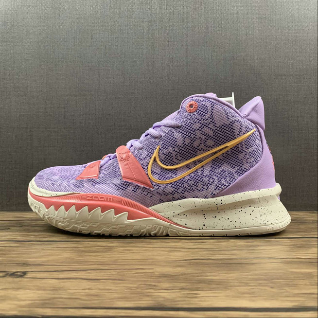 Where To Buy 2022 Wholesale Cheap Nike Kyrie 7 EP Pink Purple CQ9326-501