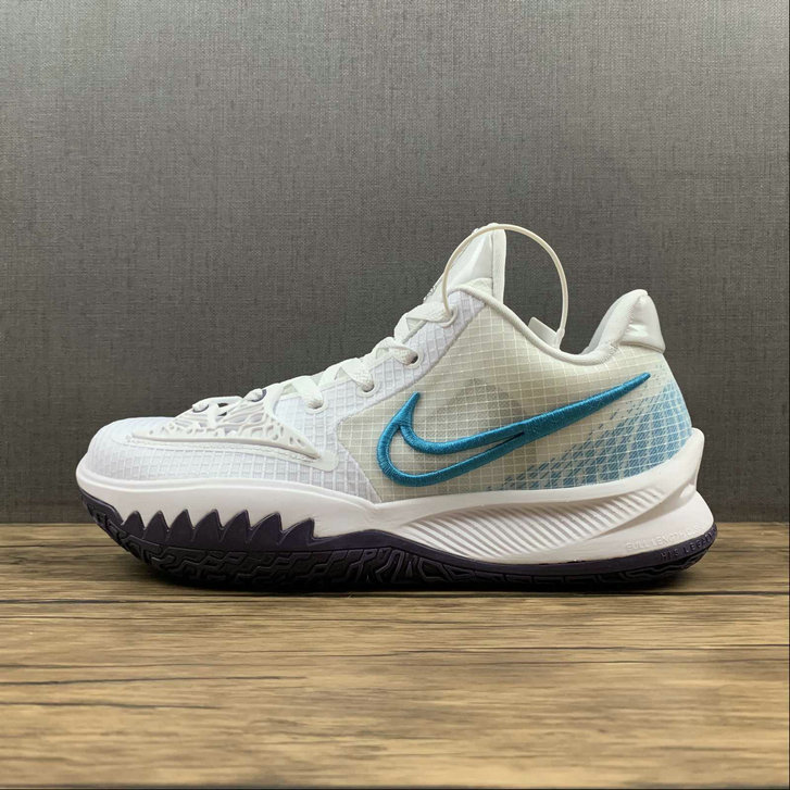 Where To Buy 2022 Wholesale Cheap Nike Kyrie Low 4 EP White Laser Blue CZ0105-100