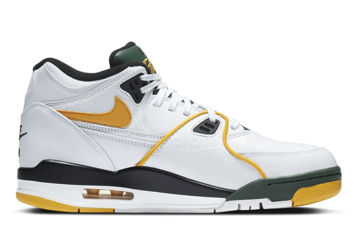 Where To Buy 2022 Wholesale Cheap Womens Nike Air Flight 89 Seattle Supersonics CN0050-100