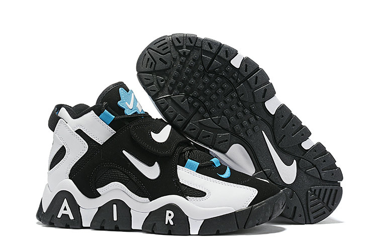 Where To Buy Cheap Nike Air Barrage Mid Black White-Cabana AT7847-00
