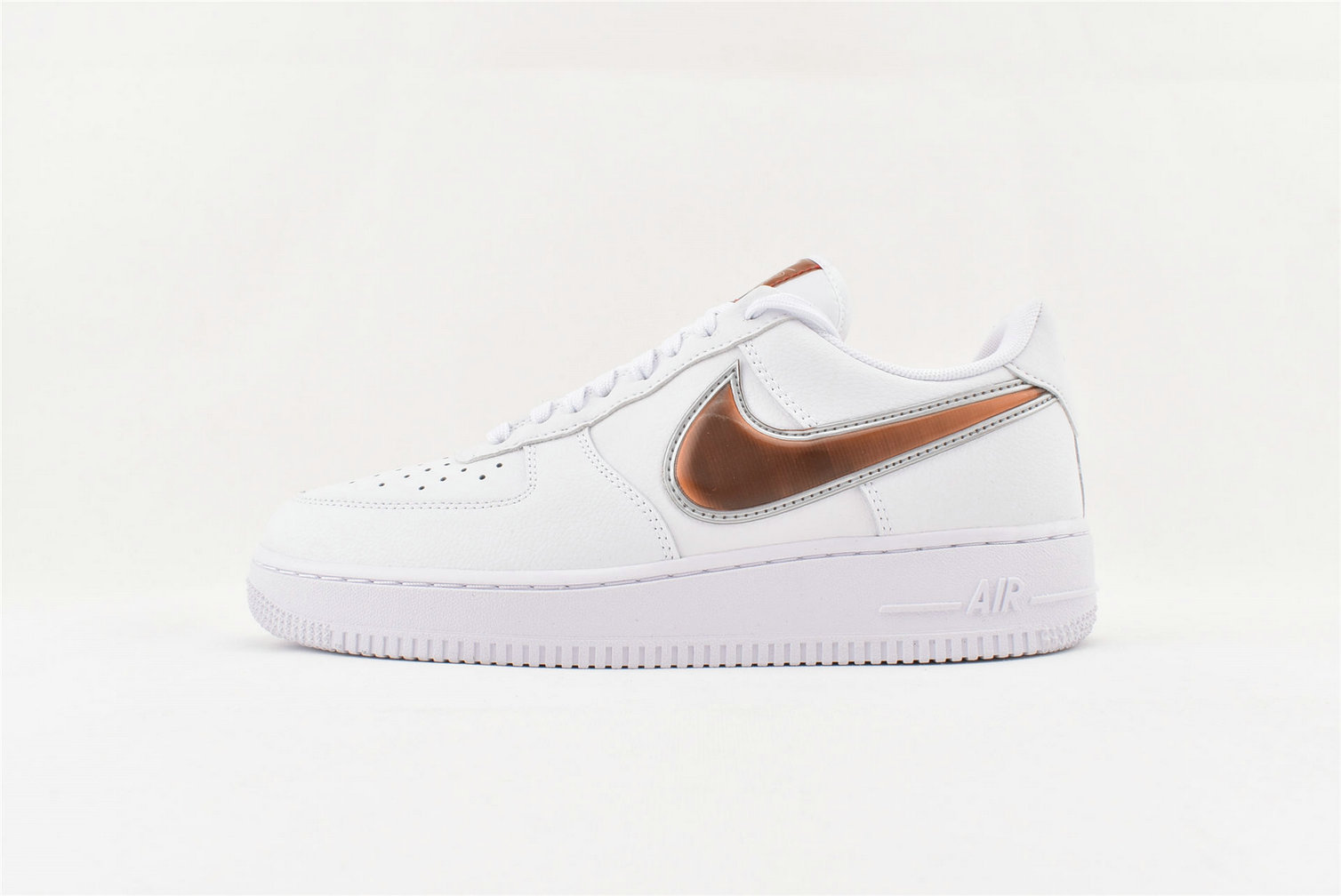 Where To Buy Cheap Nike Air Force 1 07 LV8 3 White Court Purple Infrared 23 CI6387-171