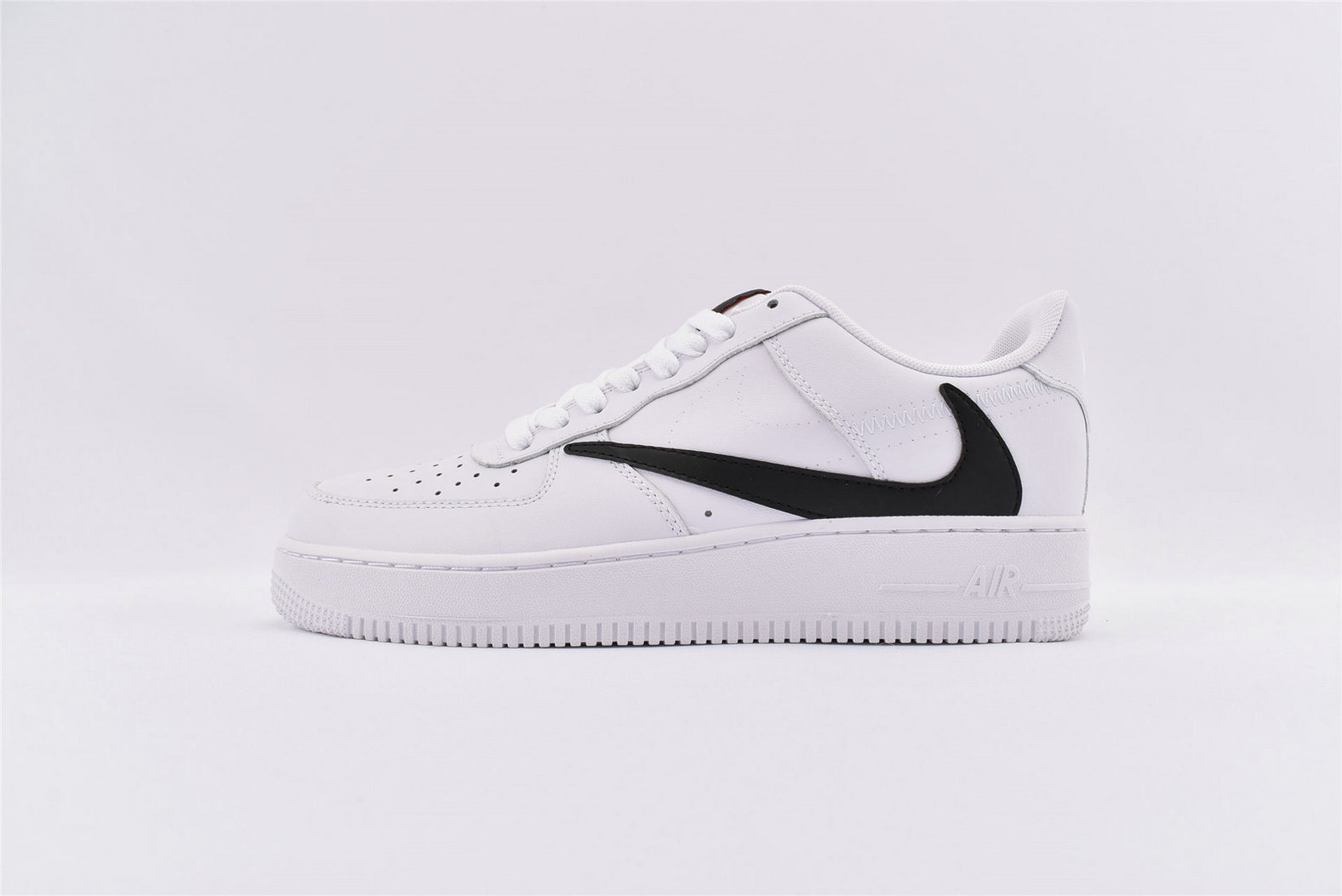 Where To Buy Cheap Nike Air Force 1 07 V8 White Red AQ8896-100