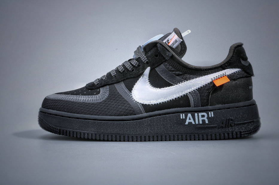 Where To Buy Cheap Nike Air Force 1 Low Off-White Black Cone White AO4606-001