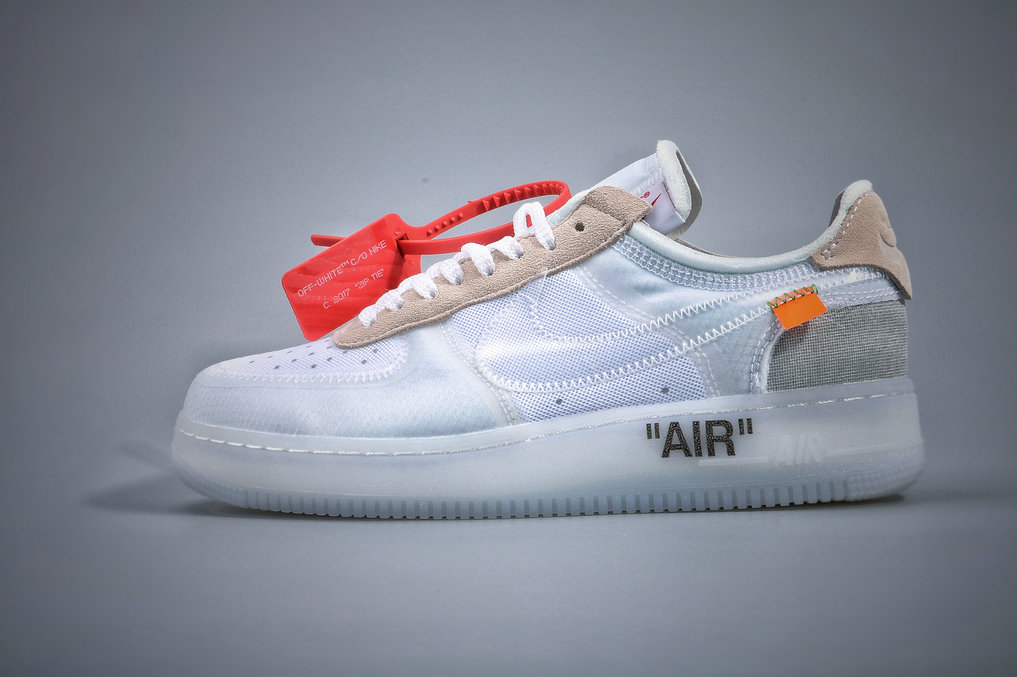 Where To Buy Cheap Nike Air Force 1 Low Off-White White-Sail AO4606-100