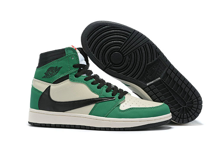Where To Buy Cheap Nike Air Jordan 1 High OG TS SP Grass Green Black White