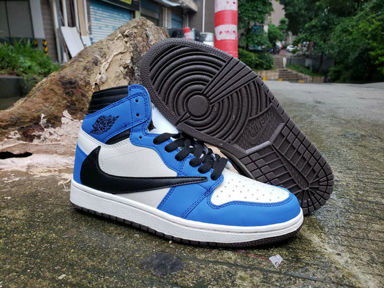 Where To Buy Cheap Nike Air Jordan 1 High OG TS SP Royal Blue White Black