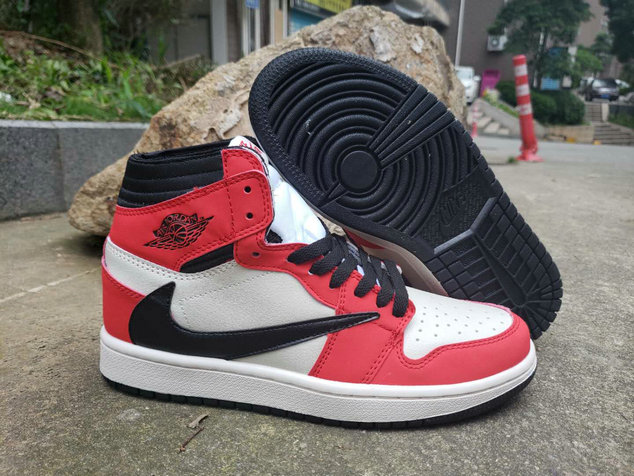 Where To Buy Cheap Nike Air Jordan 1 High OG TS SP University Red Black White
