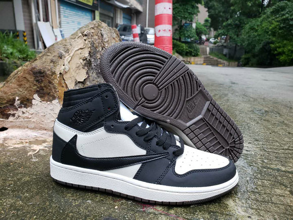 Where To Buy Cheap Nike Air Jordan 1 High OG TS SP White Black Deep Blue