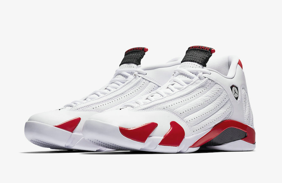 Where To Buy Cheap Nike Air Jordan 14 Candy Cane 487471-100