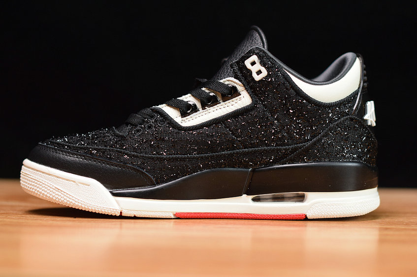 Where To Buy Cheap Nike Air Jordan 3 AWOK Black Sail BQ3195-001