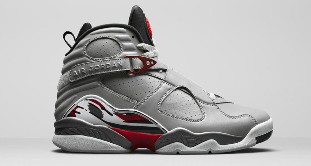 Where To Buy Cheap Nike Air Jordan 8 Reflections of a Champion Reflect Silver Hyper Blue-True Red CI4072-001