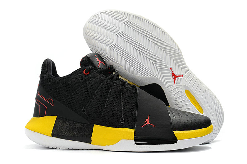 Where To Buy Cheap Nike Air Jordan Cp3 XI Black White Tour Yellow University Red