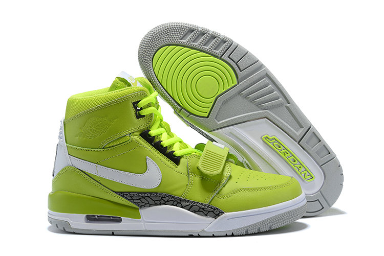 Where To Buy Cheap Nike Air Jordan Legacy 312 Ghost Green Ghost Green White-Tech Grey AQ4160-301