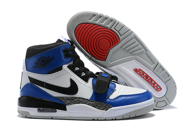 Where To Buy Cheap Nike Air Jordan Legacy 312 NRG Sail Black Storm Blue AQ4160-104