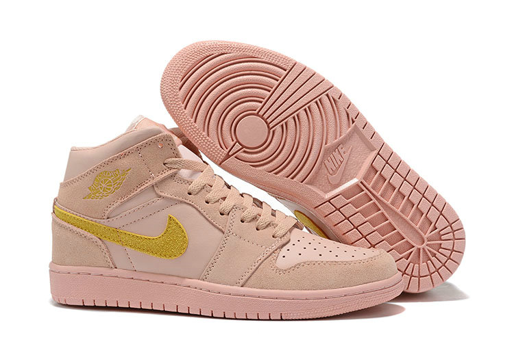 Where To Buy Cheap Nike Air Jordans 1 Golden Pink