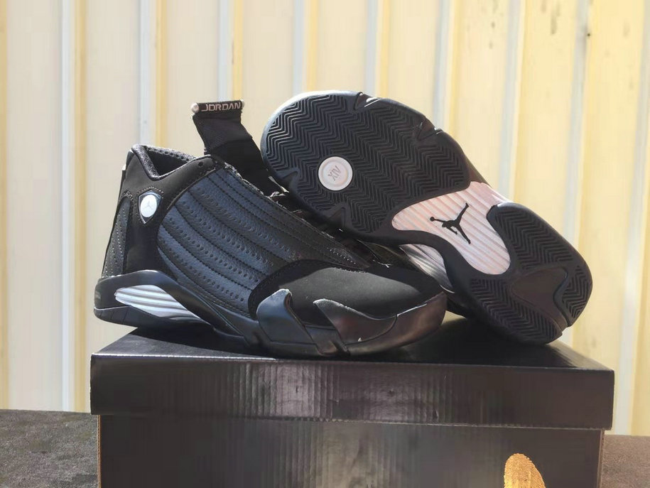 Where To Buy Cheap Nike Air Jordans 14 All Black White
