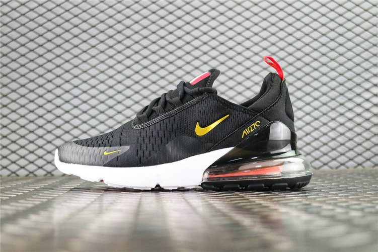 Where To Buy Cheap Nike Air Max 270 Flyknit FIFA World Cup Russia 2018 French Black Gold AH8050-117