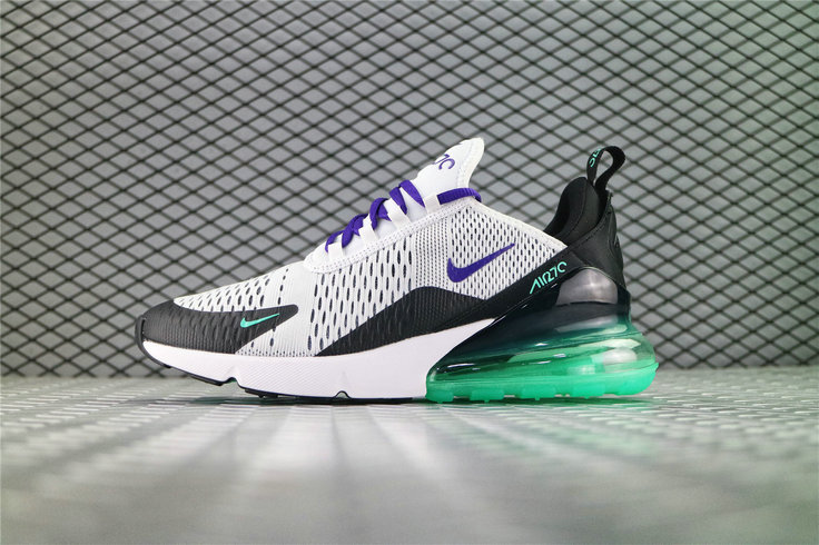 Where To Buy Cheap Nike Air Max 270 White Court Suprle Mint Candy Black AH8050 103