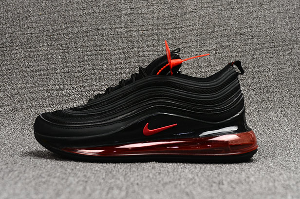 Where To Buy Cheap Nike Air Max 720 97 Black Fire Red