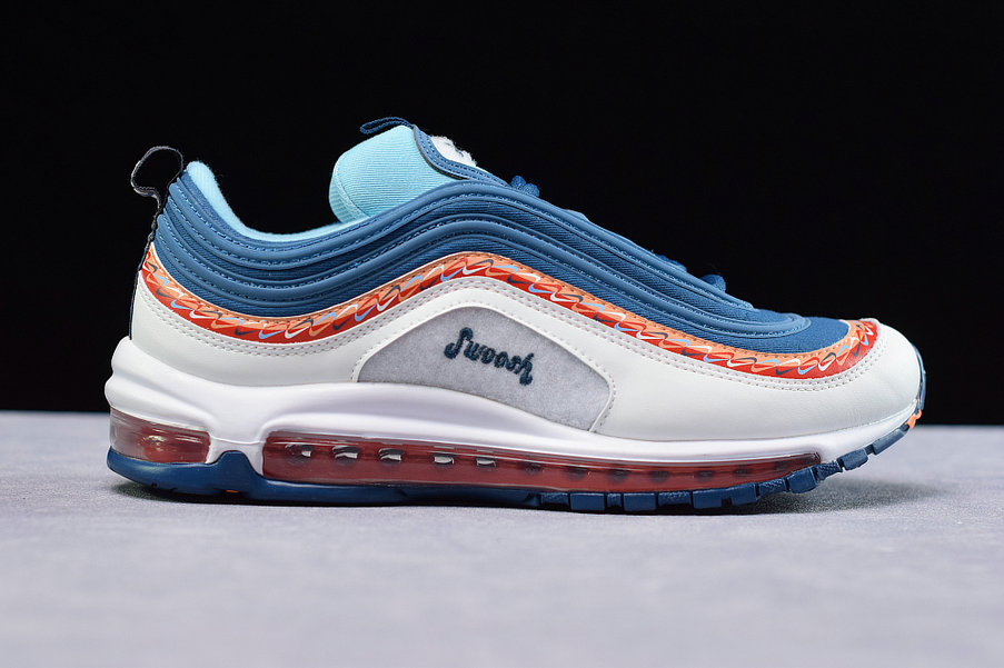 Where To Buy Cheap Nike Air Max 97 Blue Force Summit White Blanc Sommet CQ4818-400