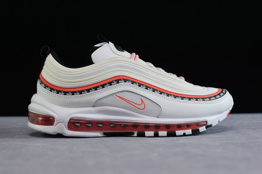 Where To Buy Cheap Nike Air Max 97 Oa White Habanero Black Red CQ4817-100