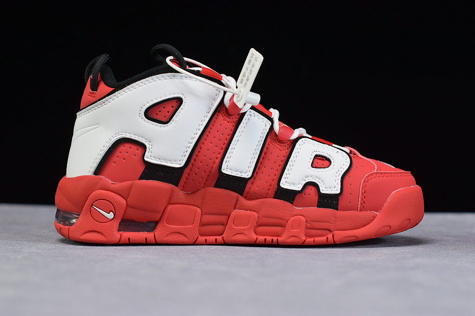 Where To Buy Cheap Nike Air More Uptempo OG University Red White Black Universite Rouge Noir Blanc CD9403-600