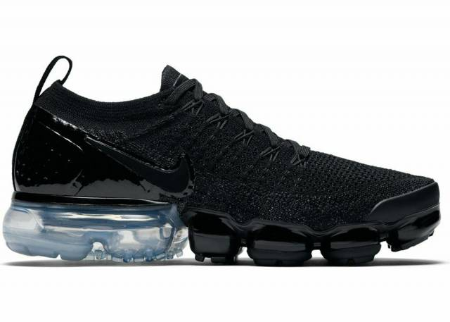 Where To Buy Cheap Nike Air VaporMax 2.0 Black-Black-White-Metallic Silver 942843-014