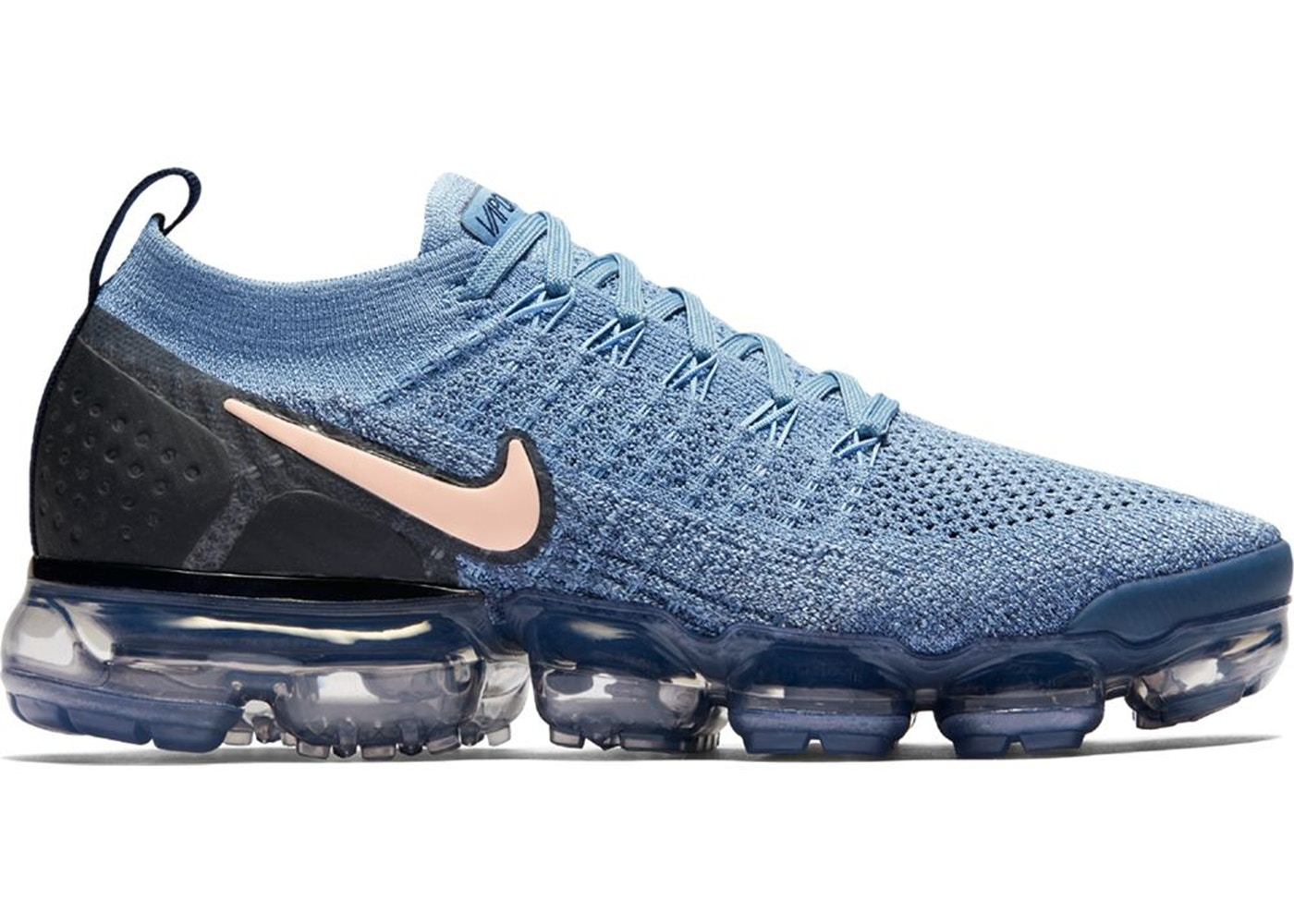 Where To Buy Cheap Nike Air VaporMax 2.0 Work Blue Diffused Blue-Blackened Blue-Crimson Tint 942843-401