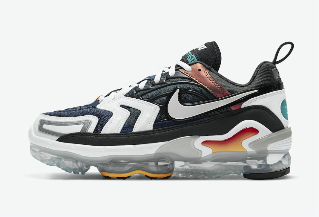 Where To Buy Wholesale Cheap Nike Air VaporMax EVO Evolution of Icons Anthracite Tech Grey-White-Midnight Navy CT2868-001