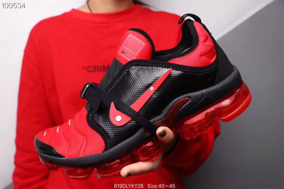 Where To Buy Cheap Nike Air VaporMax Plus MOC Gym Red Black